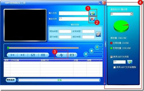 AMV Convert Tool 4.18--- MP4影片轉檔工具 - 聽米蟲王觥胯麥